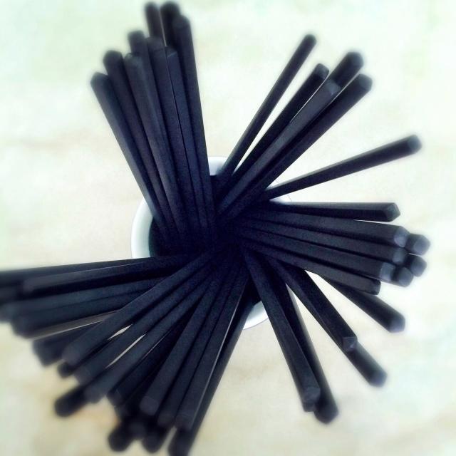 """Chopsticks in holder"" stock image"