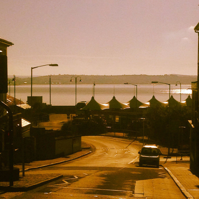 """Penzance early summer morning"" stock image"