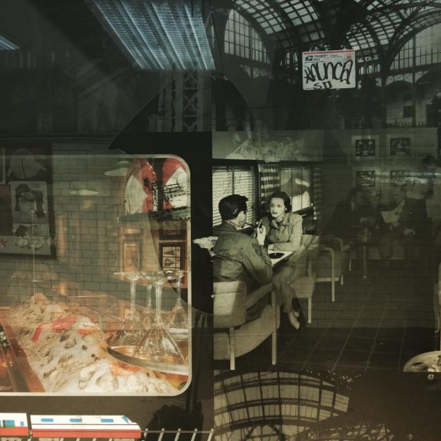 """""""Penn Station Fragment"""" stock image"""