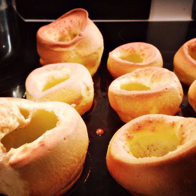 """""""Yorkshire Puddings"""" stock image"""