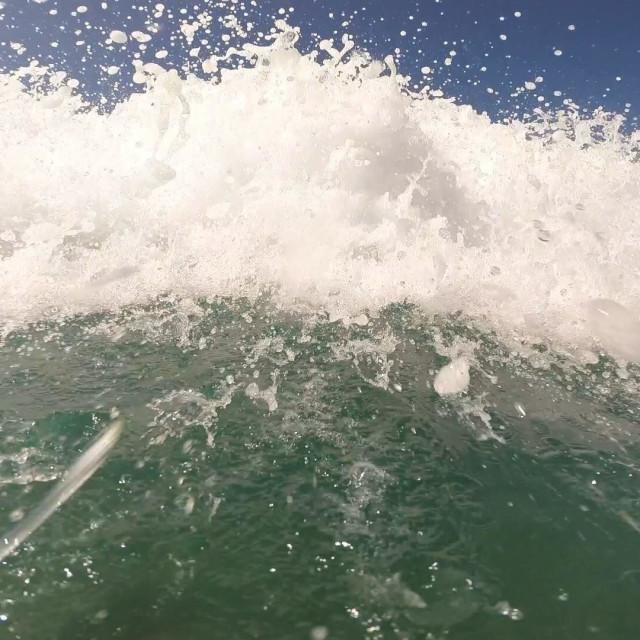 """Wave break"" stock image"