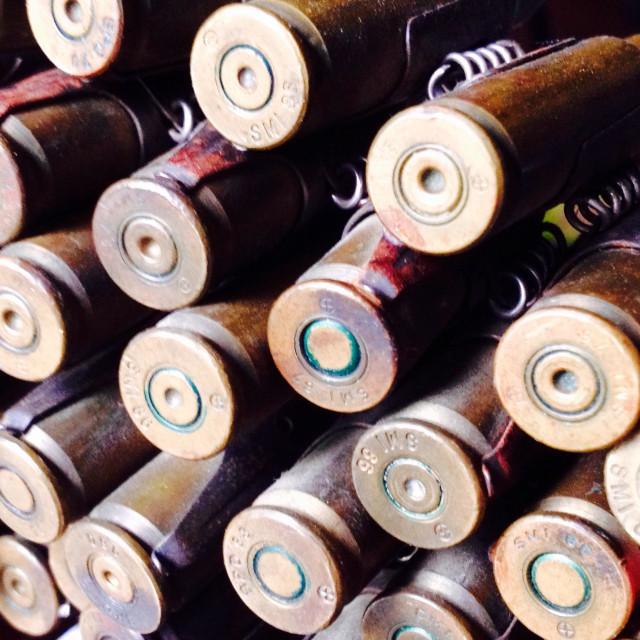 """""""Ammunition"""" stock image"""