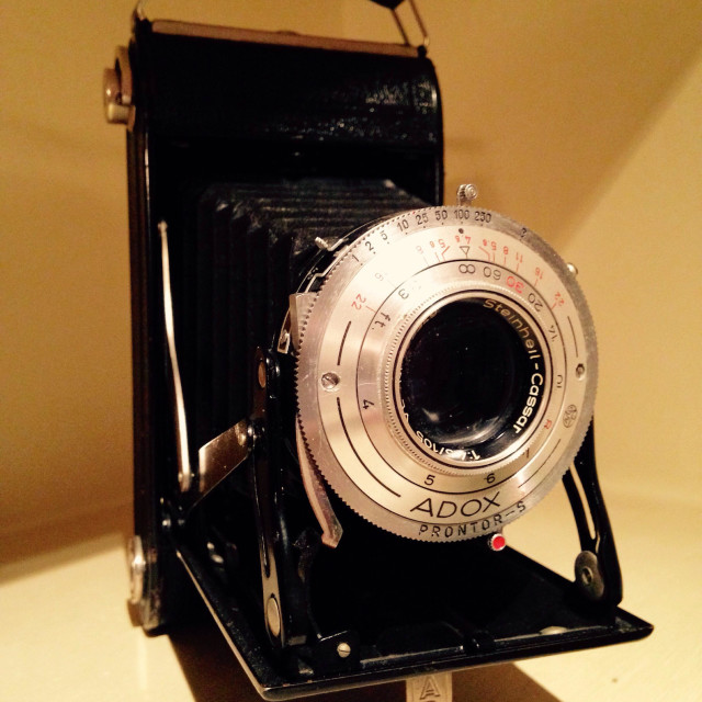 """Vintage Camera"" stock image"