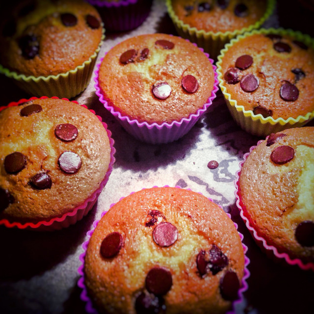 """""""Gluten free home made muffins"""" stock image"""