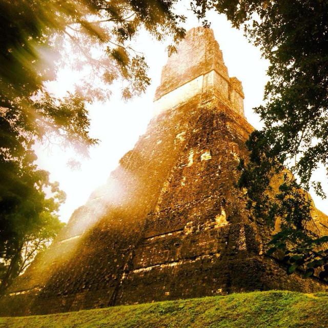 """Tikal, Guatemala"" stock image"