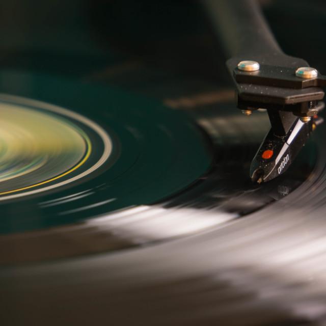 """""""Vinyl"""" stock image"""