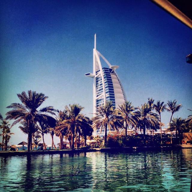 """Madinat Dubai"" stock image"