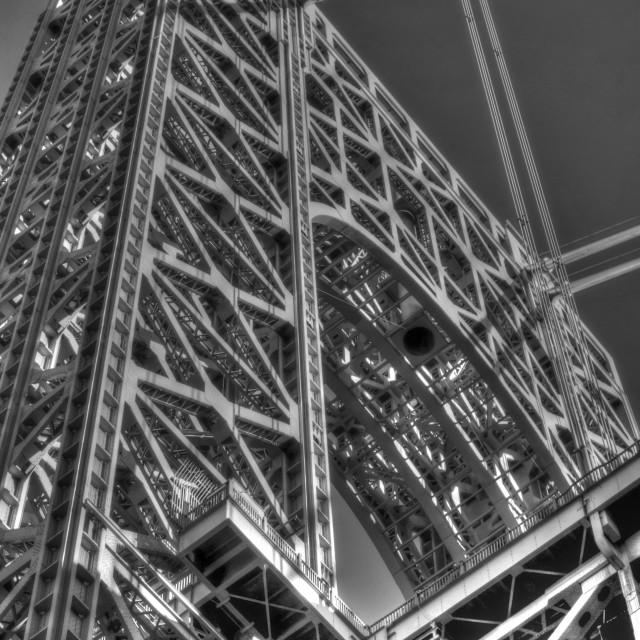 """""""George Washington bridge"""" stock image"""