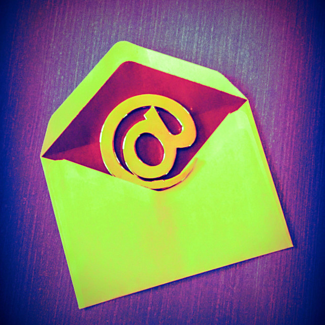 """E-mail symbol."" stock image"