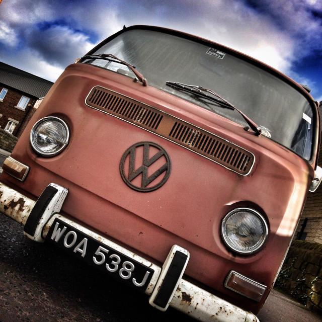"""VW camper van"" stock image"