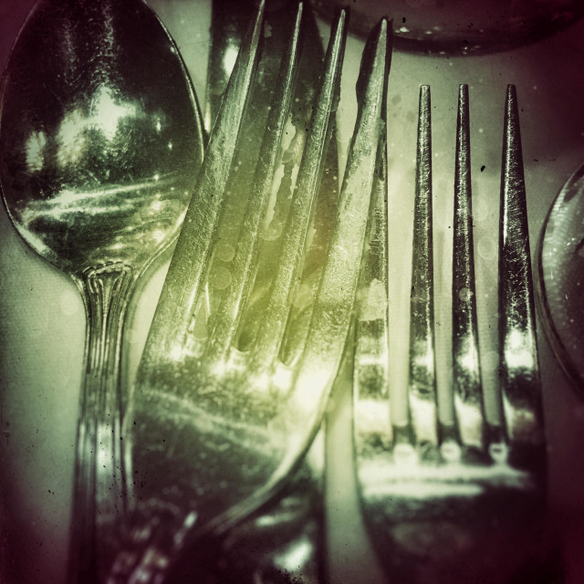 """Silverware"" stock image"