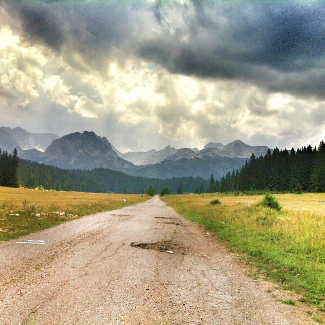 """Durmitor National Park, Montenegro"" stock image"