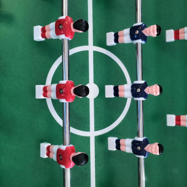 """Table football."" stock image"