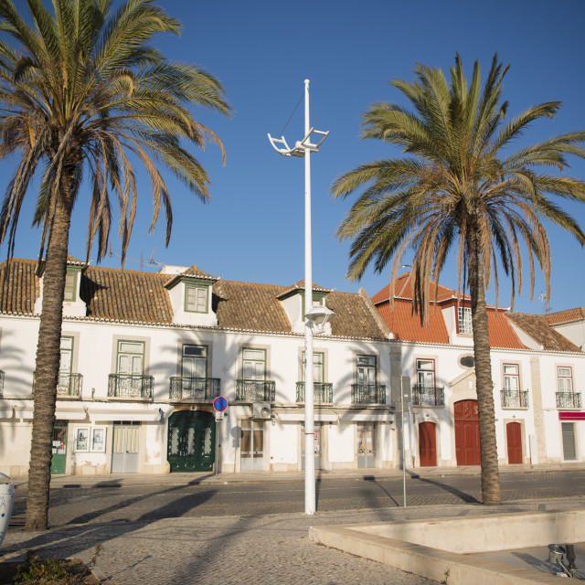 """EUROPE PORTUGAL ALGARVE VILA REAL OLD TOWN"" stock image"