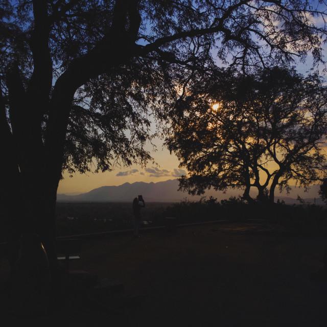 """""""Sunset in Phan Rang"""" stock image"""