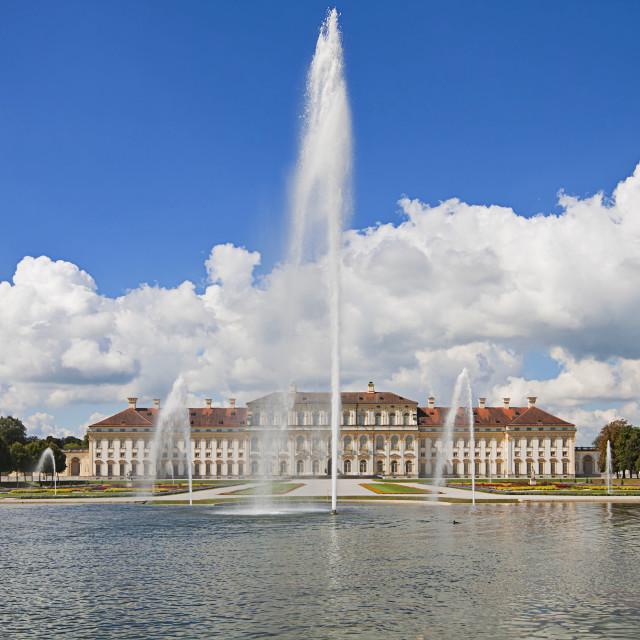 """Bavaria, Germany - Schleissheim Castle"" stock image"