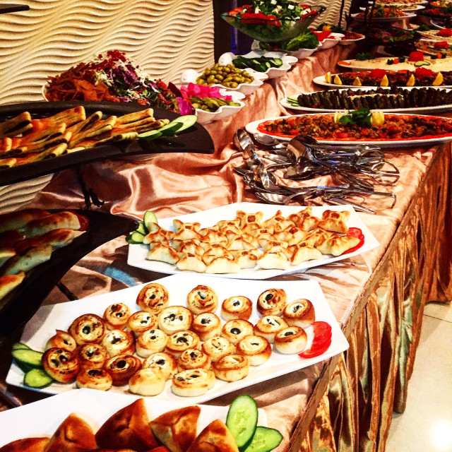 """""""Iftar time during holy month of Ramadan"""" stock image"""