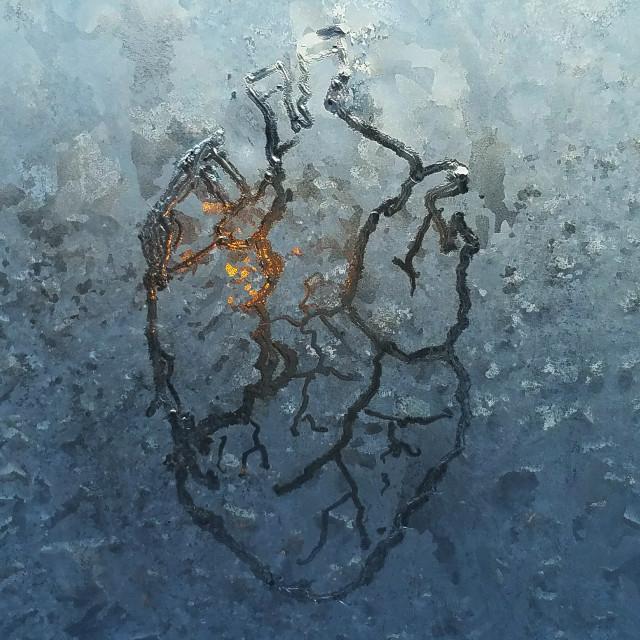 """Anatomical Ice heart"" stock image"
