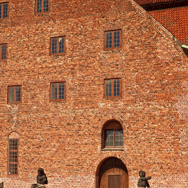"""""""Copenhagen, Denmark - Christian IV's Brewhouse, art museum"""" stock image"""