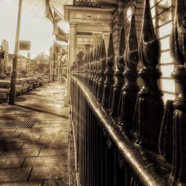 """Belgrave Square London."" stock image"