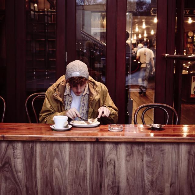 """""""Cafe shot pt.3"""" stock image"""