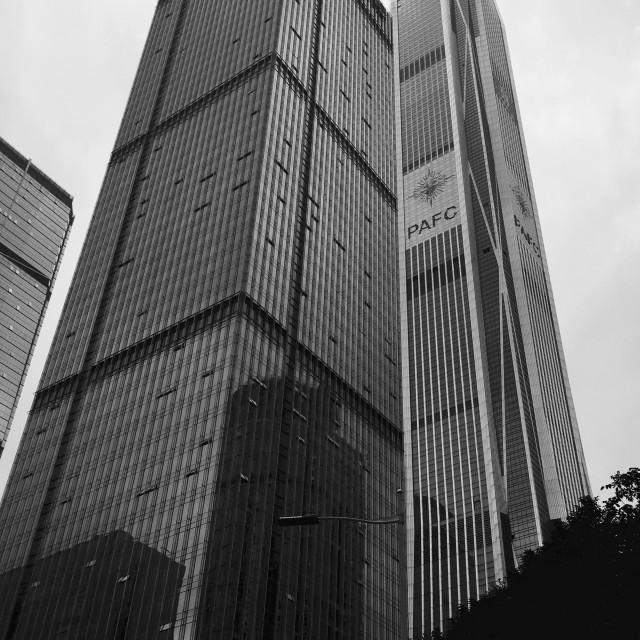 """Ping An Finance Skyscraper - Shenzhen, China"" stock image"