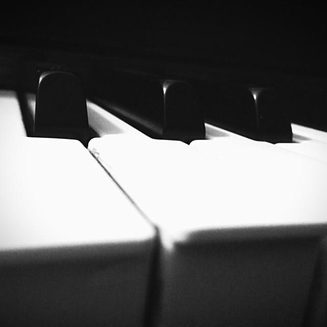 """""""Piano keys."""" stock image"""