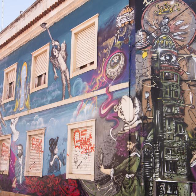 """""""EUROPE PORTUGAL ALGARVE FARO OLD CITY"""" stock image"""