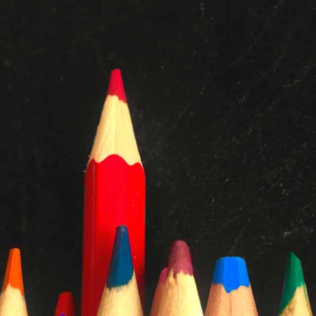 """""""Red pencil"""" stock image"""