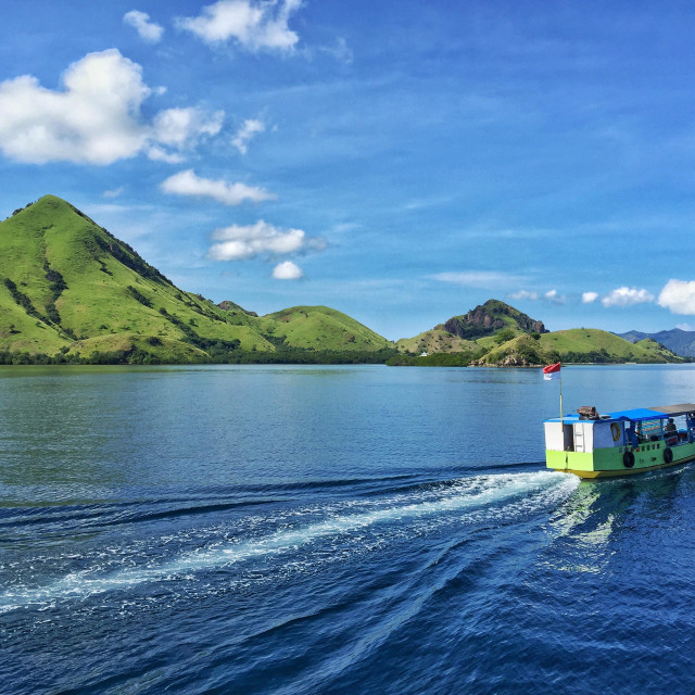 """Picturesque Flores island, Indonesia"" stock image"