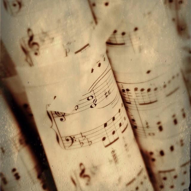 """Music"" stock image"