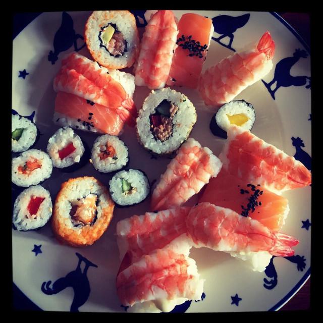 """""""Sushi"""" stock image"""