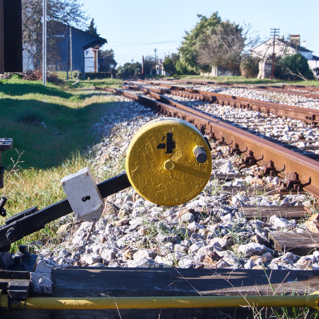 """Rail"" stock image"
