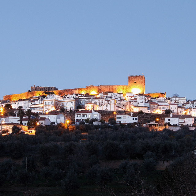 """Castelo de Vide"" stock image"