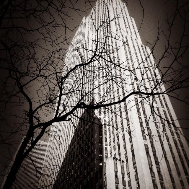 """Retro Rockefeller"" stock image"
