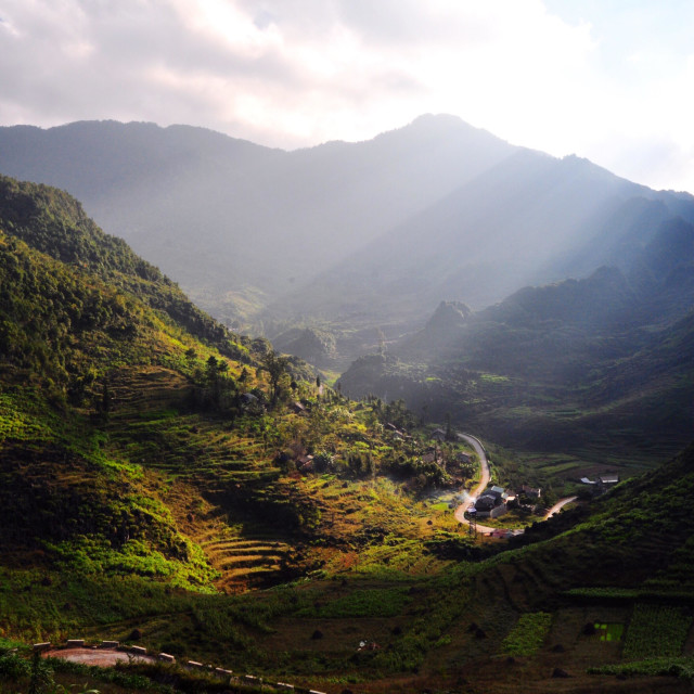 """Travelling around Vietnam"" stock image"