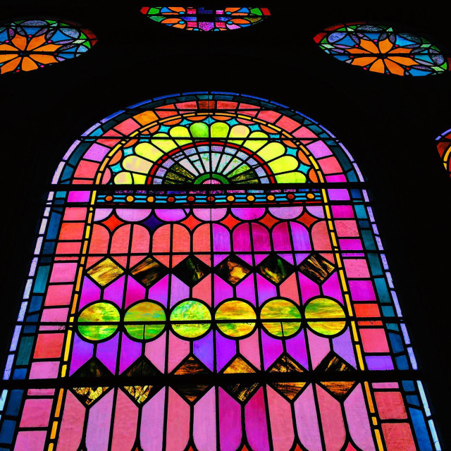 """Stain Glass"" stock image"