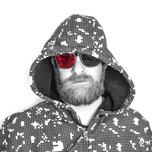 """Man in sunglasses"" stock image"
