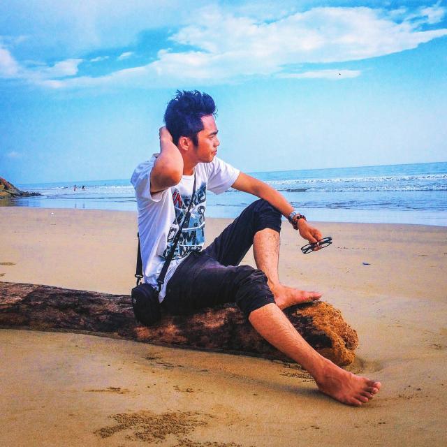"""Beach at west sumatera"" stock image"