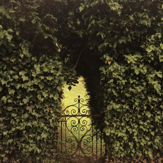 """""""Secret garden"""" stock image"""