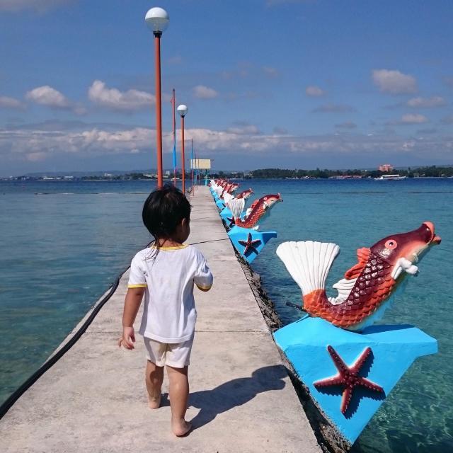 """Life's a beach"" stock image"