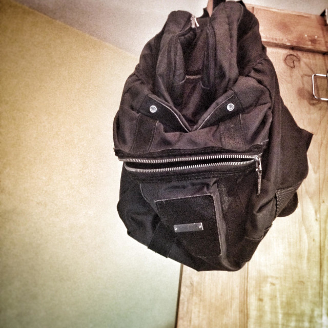 """Evil Backpack"" stock image"
