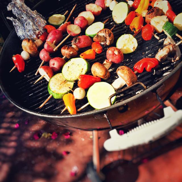"""""""Barbecue veggies"""" stock image"""