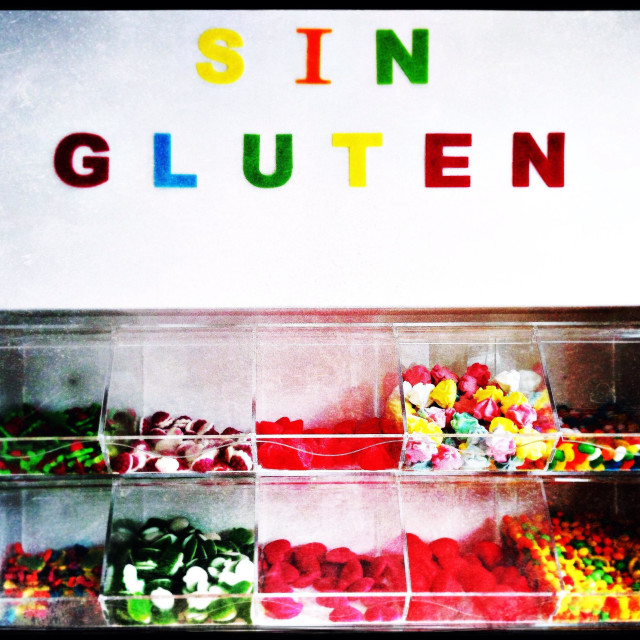 """""""Gluten free sweets"""" stock image"""