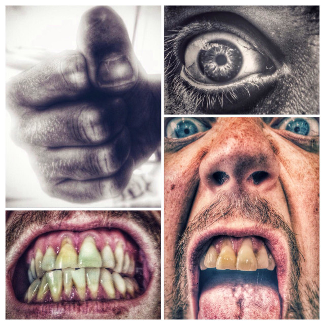 """""""Anger compilation"""" stock image"""