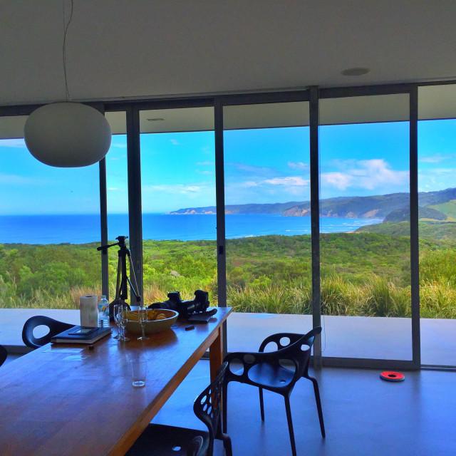 """View of Apollo Bay, Victoria,Australia."" stock image"