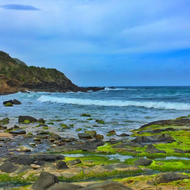 """""""Apollo Bay, Victoria, Australia"""" stock image"""