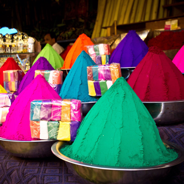 """""""Colors of India"""" stock image"""
