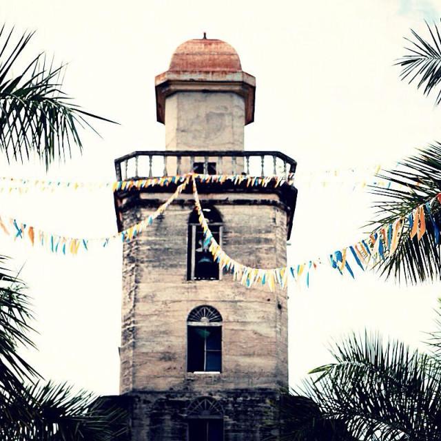 """Old church at Bohol island, Philippines"" stock image"