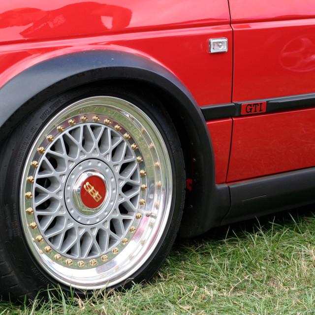 """VW Golf MkII"" stock image"